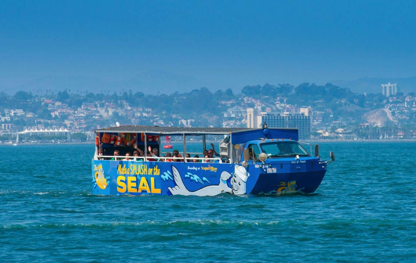 Image of San Diego Harbor Tours on the SEAL