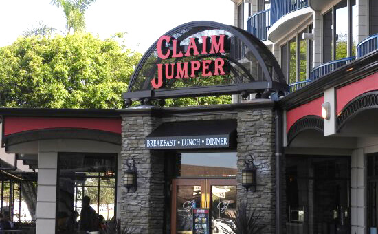 Image of Claim Jumper Sign