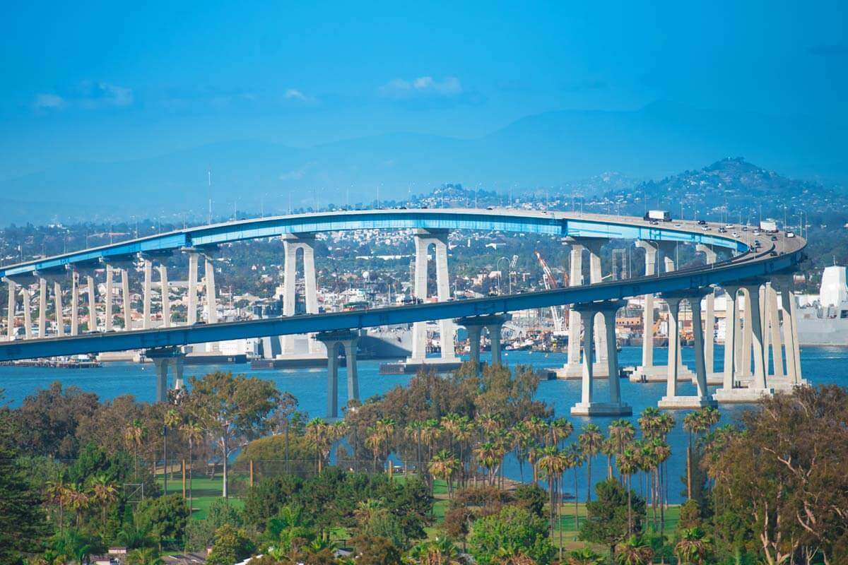 Image of Coronado Bridge San Diego