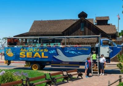 San Diego SEAL Tour vehicle