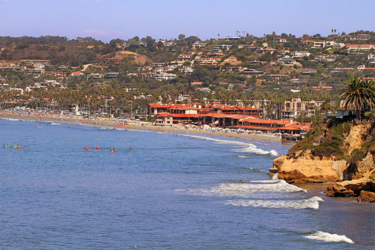Image of La Jolla from water