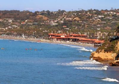 Image of La Jolla from ocean