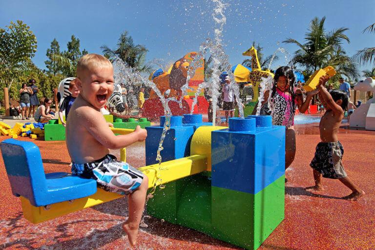 Image of kids playing at Legoland San Diego