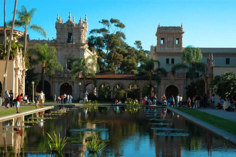 Image of Balboa Park San Diego pond