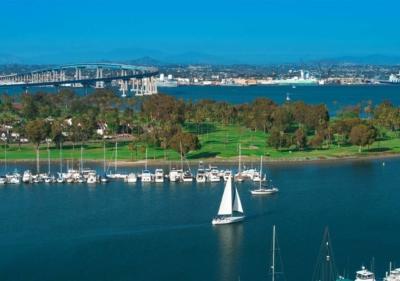 Image of San Diego tour Coronado Bridge