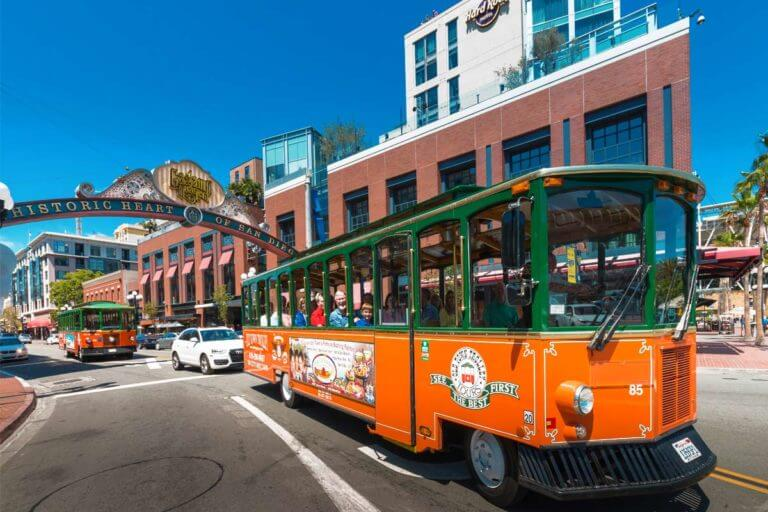 Image of San Diego tour in Gaslamp Quarter