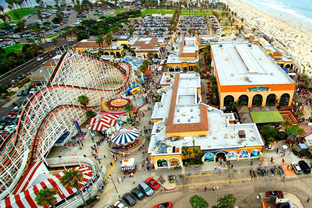 Image of Belmont Park from above