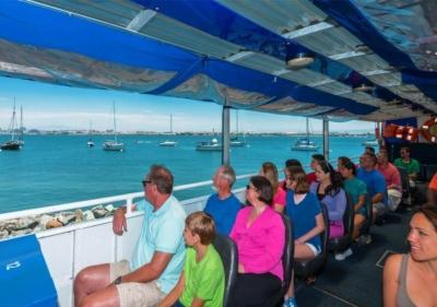 Passengers enjoying the SEAL Tour