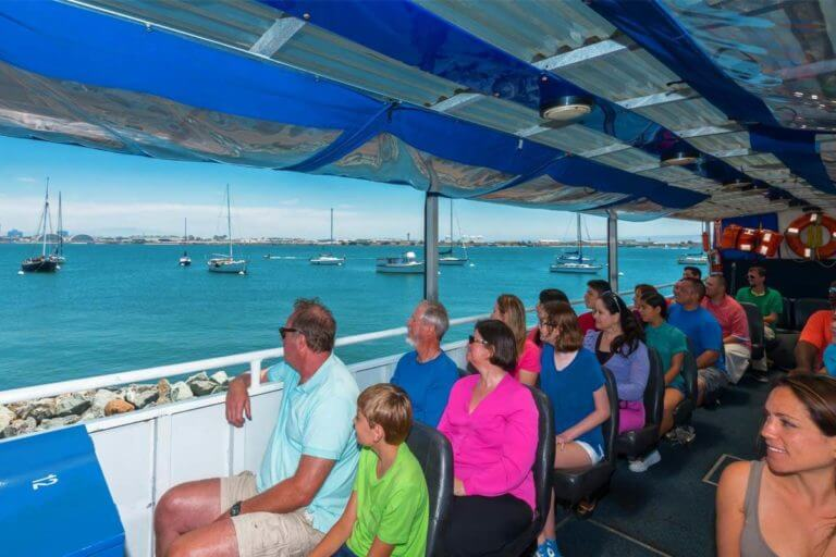 Passengers enjoying the SEAL Tour