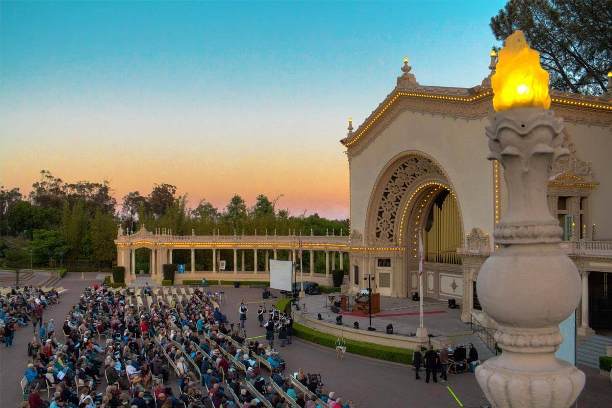 Image of Spreckels Organ Pavillion
