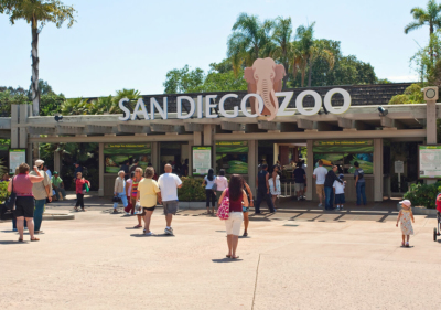 Image of San Diego Zoo Front Entrance