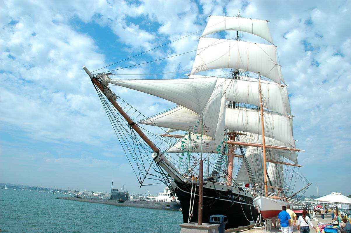 san diego maritime museum ship