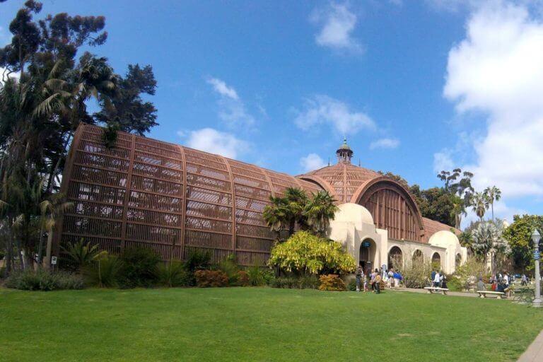 san diego botanic garden exterior