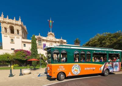 Trolley Tour in Balboa Park